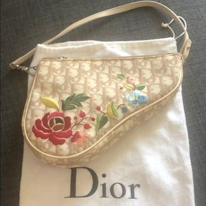 Authentic Vintage Dior Saddle Bag